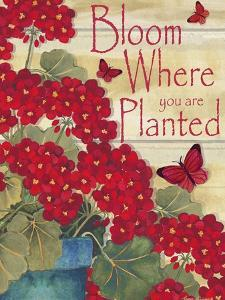 Bloom Where You are Planted by Laurie Korsgaden