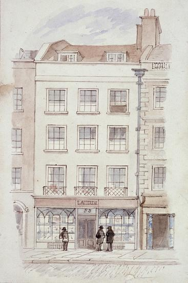 Laurie's Premises, Fleet Street, London, C1820-James Findlay-Giclee Print