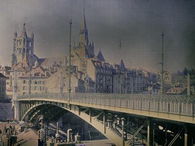 Lausanne, Switzerland-Henrie Chouanard-Photographic Print