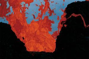 Lava Eruption Puu oo Hawaii