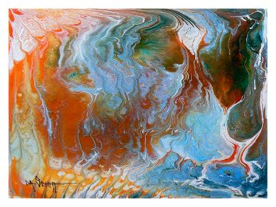 Lava Flow-Carol Schiff-Giclee Print