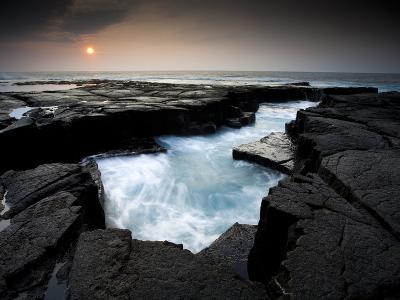 Lava Patterns in Hawaii-Ian Shive-Photographic Print