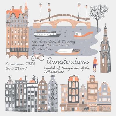 Amsterdam, Print Design