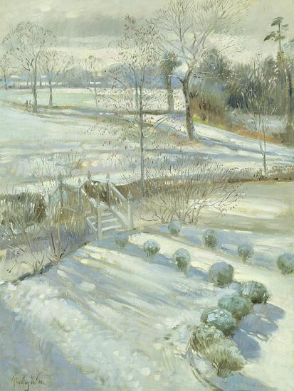 Lavender and the Chinese Bridge-Timothy Easton-Giclee Print