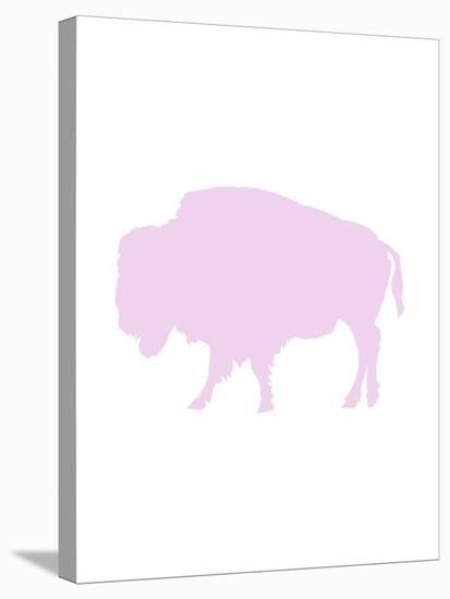Lavender Buffalo-Jetty Printables-Stretched Canvas Print