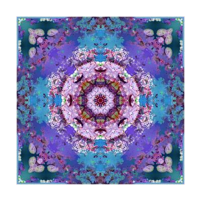 Lavender Dream Mandala III-Alaya Gadeh-Art Print