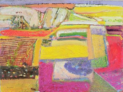 Lavender Farm, 2006-Derek Balmer-Giclee Print