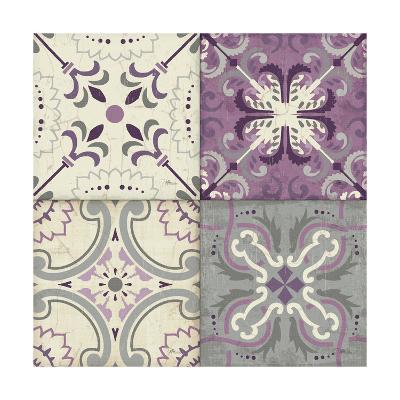 Lavender Glow Tiles Special-Jess Aiken-Art Print