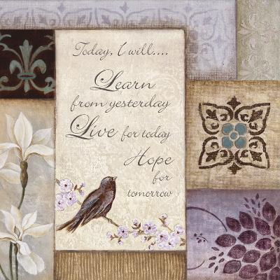 Lavender Inspiration I--Art Print