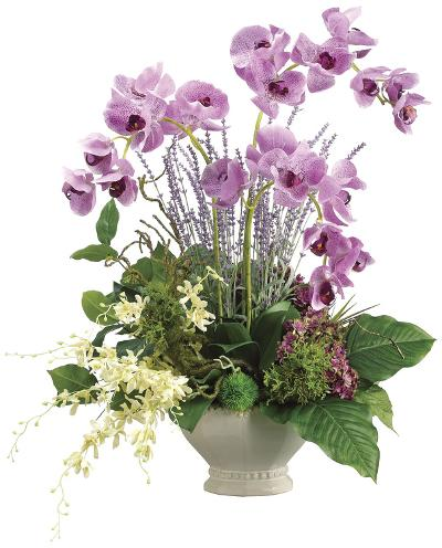 Lavender Orchid Planter--Home Accessories