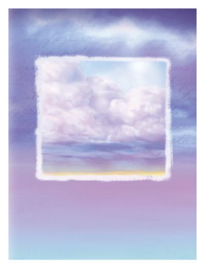 Lavender Sky--Giclee Print