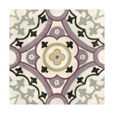 Lavender Suzani II-Chariklia Zarris-Art Print