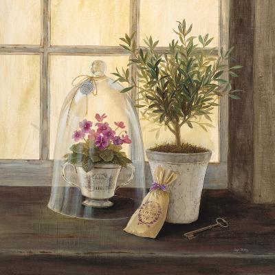 Lavender Window Garden-Angela Staehling-Art Print