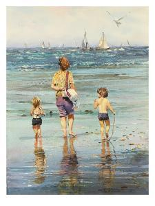 A Day at the Beach by LaVere Hutchings