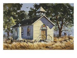 Autumn in Jamestown by LaVere Hutchings
