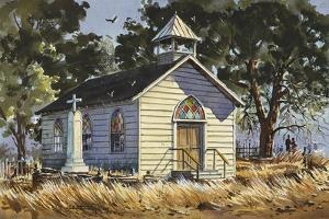 Country Church by LaVere Hutchings