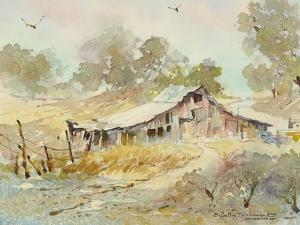 Dogtown Road Barn by LaVere Hutchings