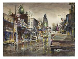 Street Lights by LaVere Hutchings