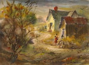 The Old Farm by LaVere Hutchings