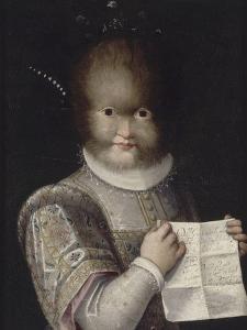 Portrait de Tonetta, fille de Gonsalvo by Lavinia Fontana