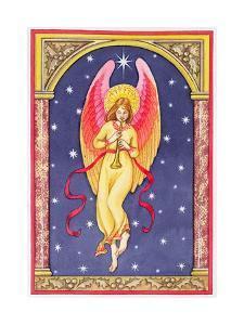 Herald Angel, 1996 by Lavinia Hamer