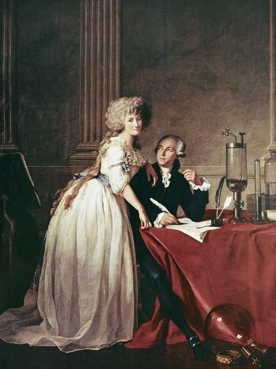 Lavoisier And His Wife, 1788-Science Photo Library-Photographic Print