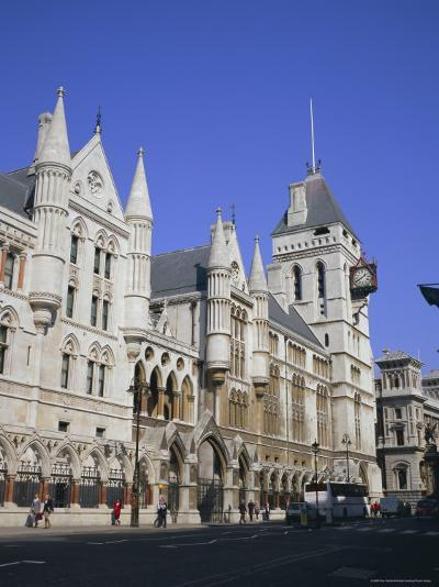 Law Courts (Royal Courts of Justice), Fleet Street, London-Roy Rainford-Photographic Print