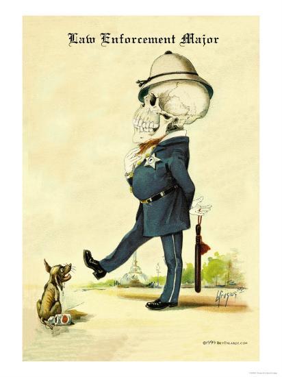 Law Enforcement Major-F. Frusius M.d.-Art Print