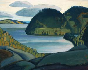 Coldwell Bay, North of Lake Superior by Lawren S^ Harris