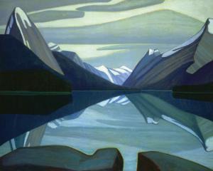 Maligne Lake, Jasper Park by Lawren S^ Harris