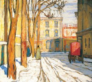 Toronto Street, Winter Morning by Lawren S^ Harris
