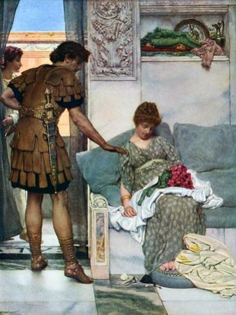 A Silent Greeting, 1908-1909 by Lawrence Alma-Tadema
