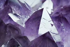 Amethyst Crystals by Lawrence Lawry