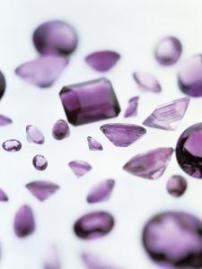 Amethyst Gemstones by Lawrence Lawry
