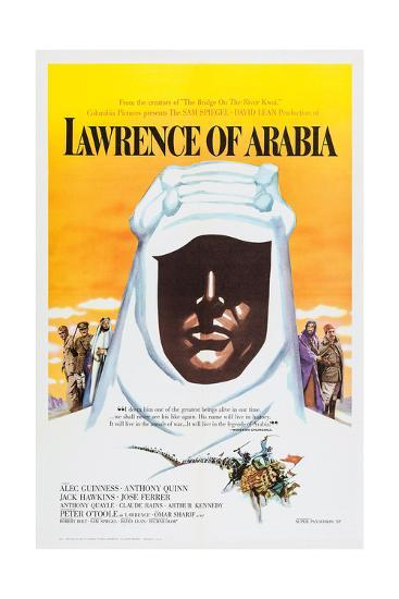 Lawrence of Arabia, 1962--Giclee Print