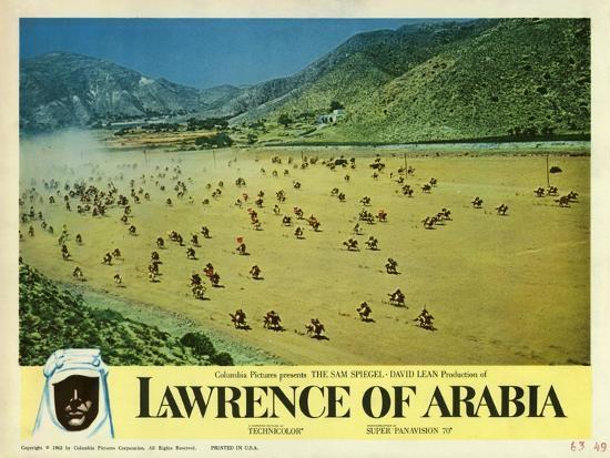 Lawrence of Arabia, 1963--Art Print