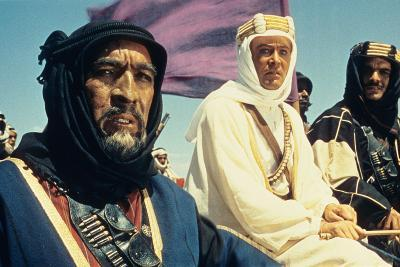 Lawrence of Arabia, Anthony Quinn, Peter O'Toole, Omar Sharif, 1962--Photo