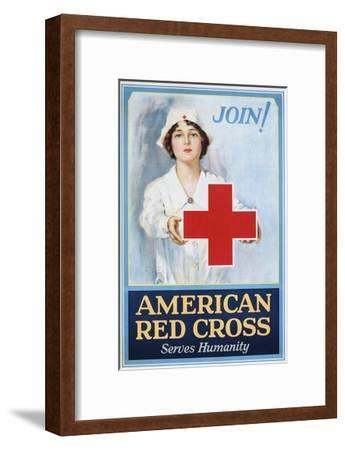 Join! American Red Cross Serves Humanity Poster