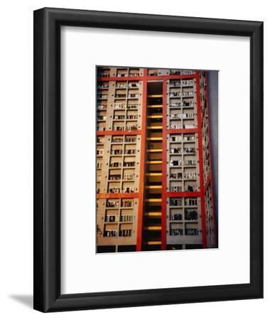 Apartment Buildings, Wanchai, Hong Kong, China