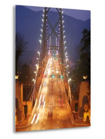 Lion's Gate Bridge Early Evening, Stanley Park, Vancouver, Canada