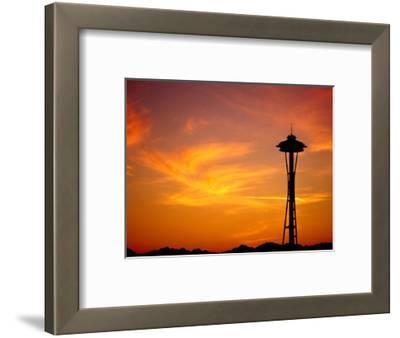 The Space Needle, Seattle, Washington, USA