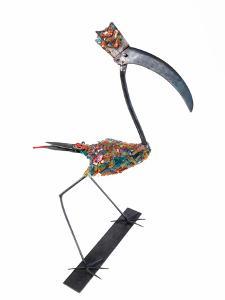 The Stork, 2009 by Lawrie Simonson