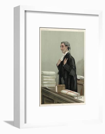 Lawyer, Rufus Isaacs-Leslie Ward-Framed Giclee Print