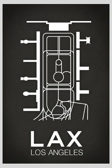 LAX Los Angeles Airport--Art Print