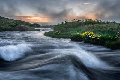 Laxa River in Thingeyjarsysla, Myvatn, Iceland-Ragnar Th Sigurdsson-Photographic Print