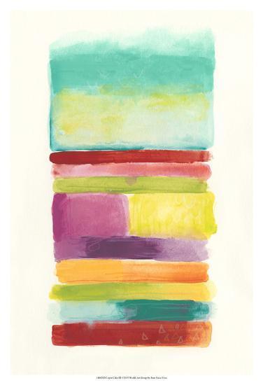 Layer Cake III-June Vess-Art Print
