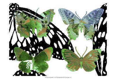 Layered Butterflies V-Sisa Jasper-Art Print