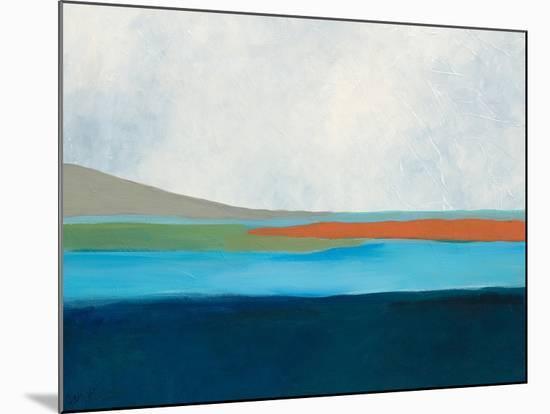 Layered Earth 4-Jan Weiss-Mounted Art Print