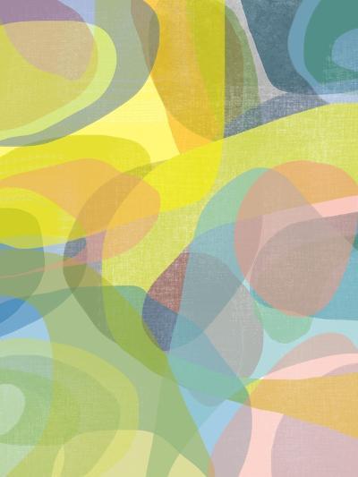 Layered Earth Three-Jan Weiss-Art Print