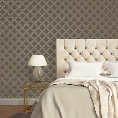 Layered Love Bronze & Metallic Champagne Self-Adhesive, Removable Wallpaper Home Decor